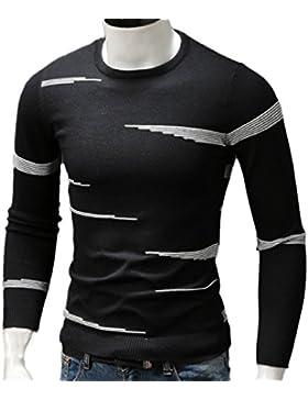 Suéter Informal Para Hombre Jersey De Manga Larga Con Cuello Alto Brave Jumper Pullover Classic Stylish Pullover