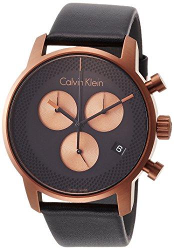Calvin Klein K2G17TC1 City Cronografo para hombres Fabricado en Suiza