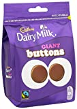 Cadbury Dairy Milk Chocolate Giant Buttons 119 Grams (Pack...