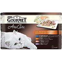 Purina Gourmet a la Carte Recetas del Chef en Salsa comida para gatos Surtido Carne y Pescado 4 x 85 g