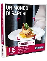 SMARTBOX - Cofanetto Regalo - UN MONDO DI SAPORI - In ristoranti selezionati nella guida Michelin