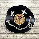 Syhua Odora di Spirito Adolescenziale Orologio da Parete Art Gift Room Modern Home Record Vintage Decorare L'Orologio da Parete