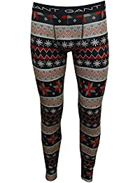 Gant Men's Fair Isle Long Johns Thermal Bottoms
