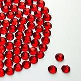 Pack of 500 x AA Grade Siam Hotfix Rhinestone Diamante Gems Size SS10 (2.8-3mm)