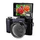 Videocamera Camera Full HD 24.0MP Fotocamera 1080p Digitale Camera Con 52MM Obiettivo Grandangolare