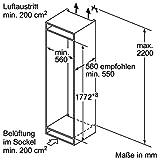 Neff KF735A2 Einbau-Kühl-Gefrierkombination / 177,5 cm / A++ / Kühlteil: 188 Liter / Gefrierteil: 67 Liter / Flachscharnier Vergleich