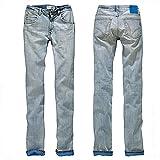 Pant Jean Adidas W Cupie Skinny Frau blau V14984 US25-F34