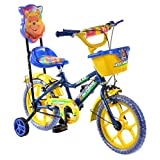 #3: Outdoor Bikes Blue Yellow 14 Inches Bicycle For Kids 3 to 5 Years Sturdy Frame (ASSEMBLING TO BE DONE BY CUSTOMER)