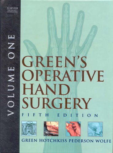 Green's Operative Hand Surgery  e-dition: Text with Continually Updated Online Reference, 2-Volume Set
