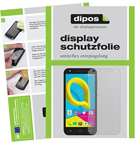 Alcatel U5 Schutzfolie - 2x dipos Displayschutzfolie Folie matt