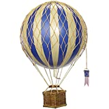 Authentic Models - Dekoballon - Jules Verne - Ballon Blau - 18 cm Durchmesser