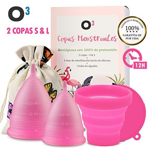 O³ Copa Menstrual Ecologica 2 Unidades - S L - Con