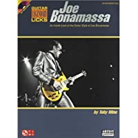 Joe Bonamassa: Legendary Licks. Partituras, CD para Guitarra, Acorde de Guitarra