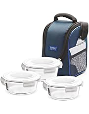Treo by Milton Health First Round Glass Tiffin Box with Cover