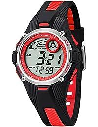 Calypso Kinderuhr Jugend Armbanduhr Digitaluhr Alarm Rot K5558/5