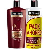 TRESemmé Pack con Champú y Acondicionador Liso Keratina - 1 Paquete ...