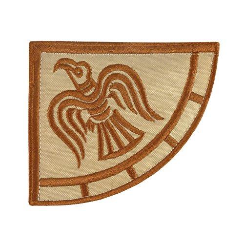 Rare Viking Raven Banner Desert DCU Odin God of War Morale Stickerei Sew Iron on Aufnäher Patch -