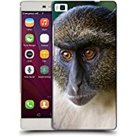 Super Galaxy Soft Flexible TPU Slim Fit Cover Case // V00003899 sykes monkey mount kenya // Huawei Ascend P8