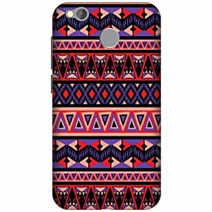 Printland Printed Hard Plastic Back Cover For Mi Redmi 4 -Multicolor