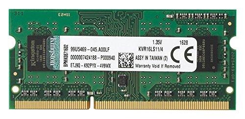 4GBPC3L12800(1600MHZ)KINGSTONLAPTOP