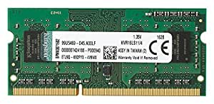 Kingston Technology - ValueRAM KVR16LS11/4 - Mémoire RAM 4Go 1600MHz DDR3L