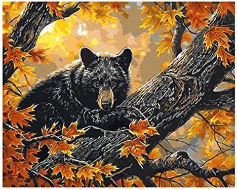 OKOUNOKO 1000 Pièces De Puzzles pour pour pour Adultes 3D Autumn Bear DIY Forest Animal Art Home Nouveau Personnalisation Bois L'Assemblée Puzzle Amusant | 2019  67f4fa