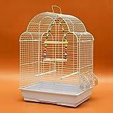 Pet Online Visualización con jaulas de aves loro Mudan 8 y pequeñas aves jaula ,43*30,5*57,5 cm