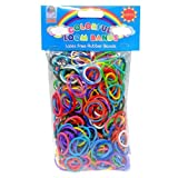 Loom Bandz - Rainbow Colours - Colourful Assortment 600 Count by Loom Bandz