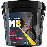 MuscleBlaze Super Mass Gainer (Chocolate, 5 Kg)