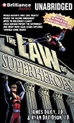 The Law of Superheroes by James Daily J.D. (2012-10-11)