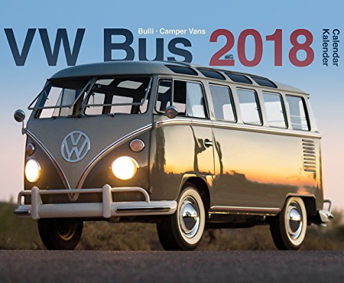 VW Bus 2018 Calendrier Combi Campers