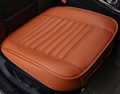 Preisvergleich Produktbild Edealyn Sitzbezug, PU-Leder, Bambuskohle, ohne Rückenlehne