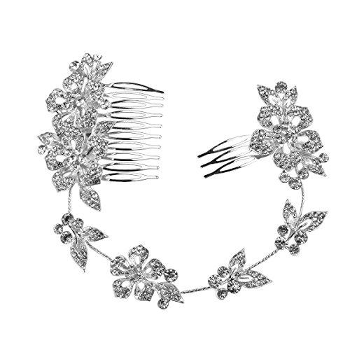 PIXNOR Bridal Crystal Haare kämmen