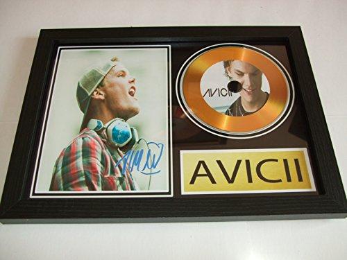 Avicii Firmado Oro disco