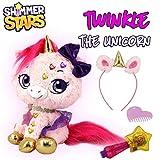 Shimmer Stars S19301 Twinkle The Unicorn Plüschtier, Rosa
