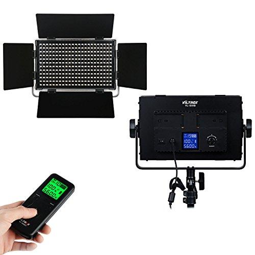 VILTROX® VL-S50B 50W 4500LM Dimmbare LED-Videoleuchte LED Licht Panel Foto Studio Beleuchtung Video Licht für Canon Nikon Sony DSLR Kamera DV Camcorder