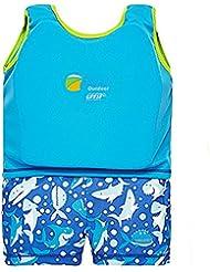 Hibote Kinderschwimm Float Suit Schwimmhilfe Neopren Anzug 2-teilig Mädchen Swim Trainer Wear
