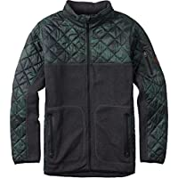 Burton Felpa Uomo con cappuccio Pierce in pile, Uomo, Hoodie PIERCE FLEECE, Beetle Derby Camo, L