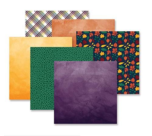 Creative Memories Rainbow Rush Bastelpapier, 12 Stück -