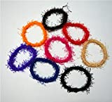 Imported High Quality Exclusive Lady Hair Rubber Band Mix Design 12pcs + 12pcs Free Mix