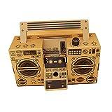 YANKAN Folding Carton Zuheyinxiang Mobilheim MP3 Audio Papier Retro Versammlung Lautsprecher