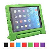 LEADSTAR iPad Air Kinder Hülle EVA Case Super Leichte Stoßfeste Schutzhülle Tasche Cover für Apple iPad Air / iPad 5 - Grün