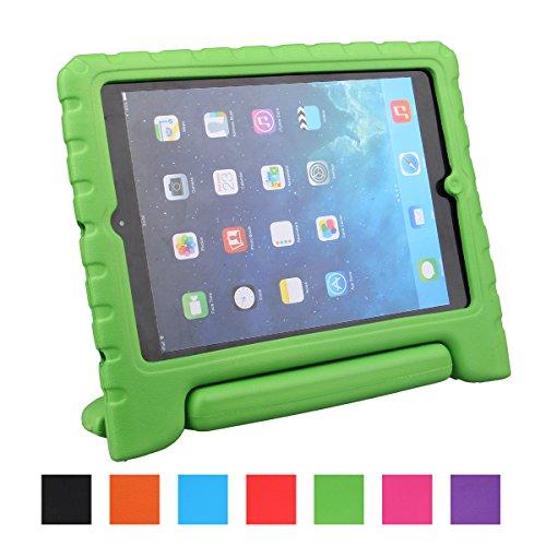 LEADSTAR iPad Air Kinder Hülle EVA Case Super Leichte Stoßfeste Schutzhülle Tasche Cover für Apple iPad Air / iPad 5 - Grün Tablet-cover Für Kinder