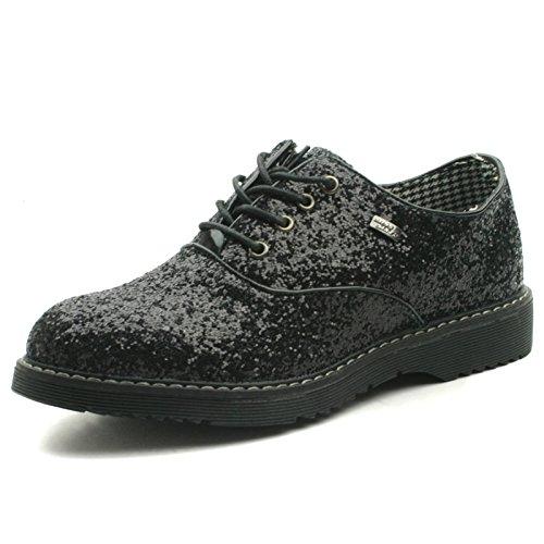 Miss SixtyMs029 - Stivali da ragazza' , nero (Black), 37 EU