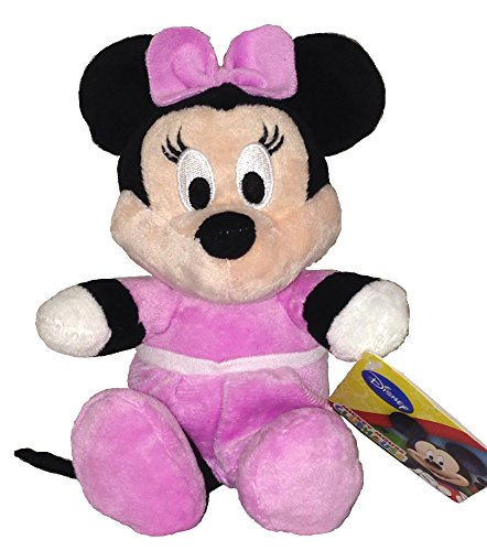 "Mickey Mouse Clubhouse Flopsie Soft Plush Toy -Minnie 8""/20cm"