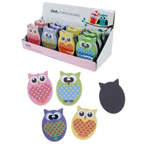 Preisvergleich Produktbild Modisches Eule Design attraktives Tasche mit passender Geldbörse und Eule Design Nagelfeile