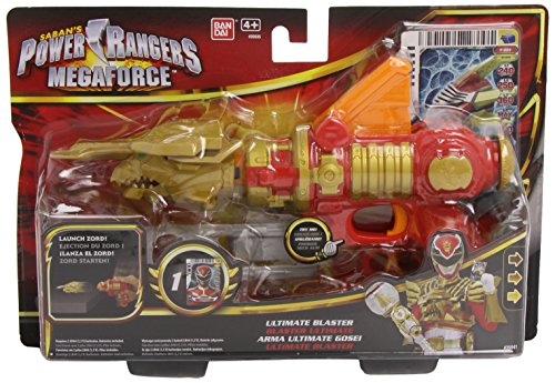 Power Rangers Megaforce Rot Robo Blaster (Megaforce Kostüm Ranger Rotes Power)