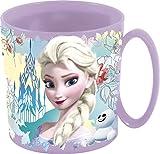 Theonoi Kunststoffbecher/Tasse 350 ml wählbar: Minnie - Princess - Frozen -PawPatrol/Becher mit Henkel aus Kunststoff BPA frei Mikrowelle geeignet/Mädchen Geschenk - Frozen
