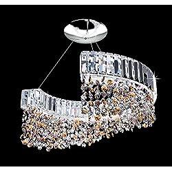 PATRIZIA volpato iluminación de diadema cromo a mano, Made in Italy