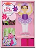 Melissa & Doug Nina Ballerina Magnetic Dress Up Playset
